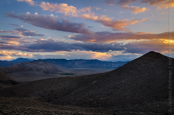 Gilbert Pass Sunset