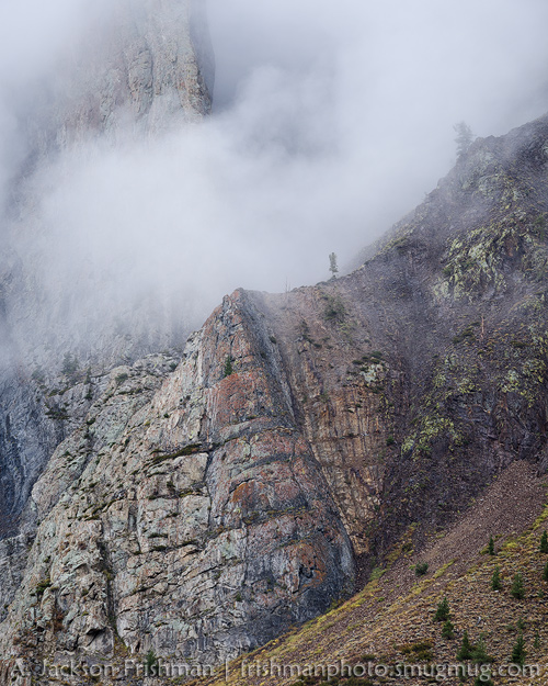 Cliffs and Mist