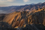Sunrise on the Inyo Mountains and Saline Valley