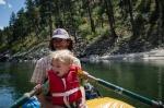 Rowing, Salmon River, Idaho