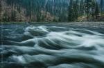 Whitewater at Twilight, Salmon River, Idaho