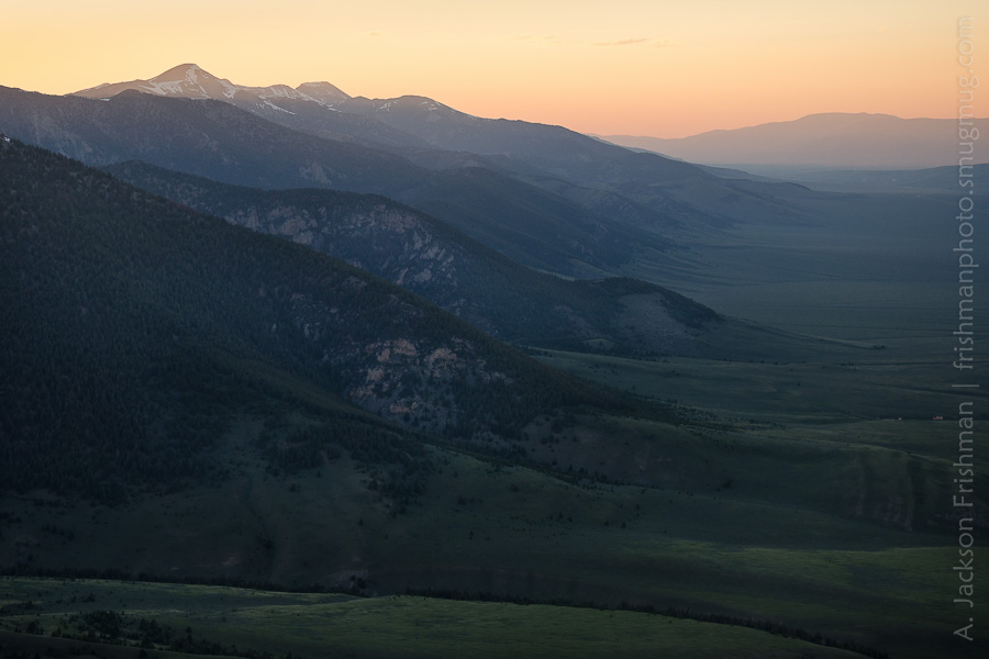 Lemhi Valley Twilight