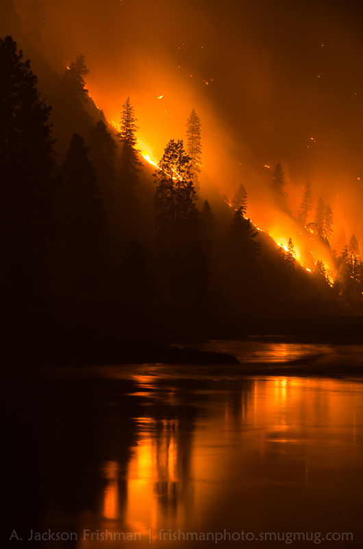 Salmon River Burning