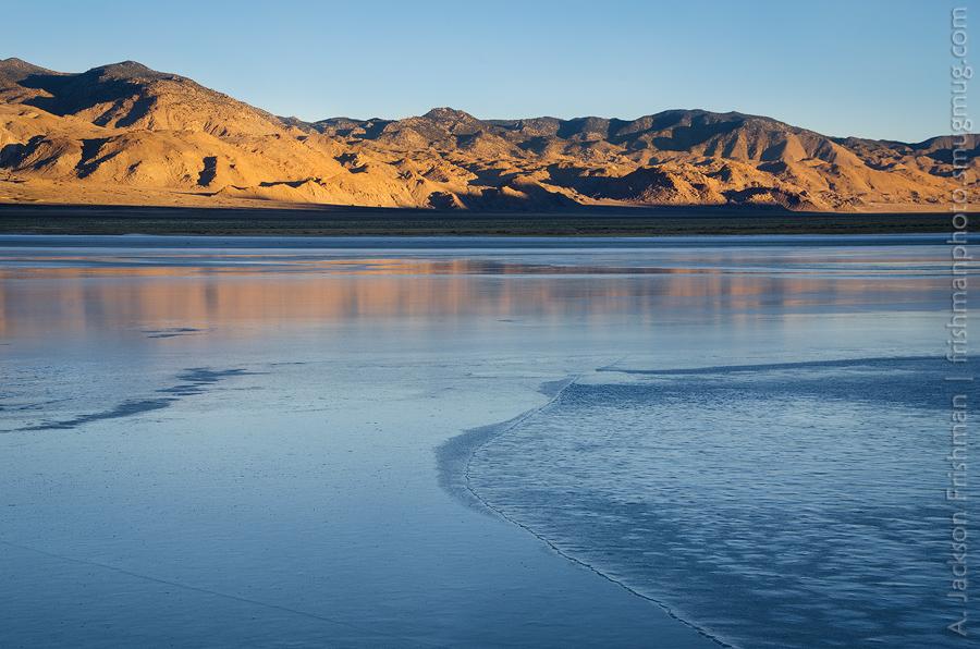 Desert Ice Morning