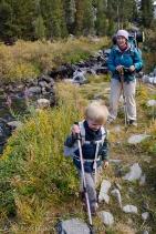 Backpacking Little Lakes Valley, Sierra Nevada