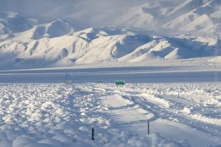 Highway 168 Snow