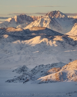 Split Mountain over Deep Springs