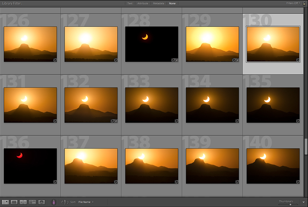 Crescent Sun Sequence