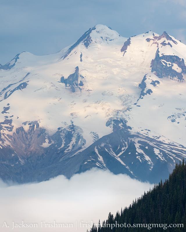 Glacier Peak Towering