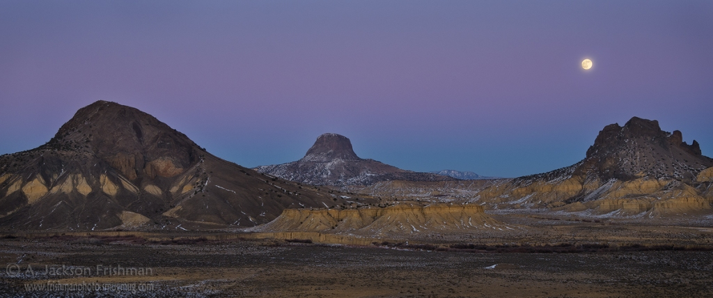 Puerco Valley Moonrise