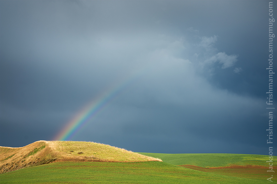 Rainbow and Golden Hill