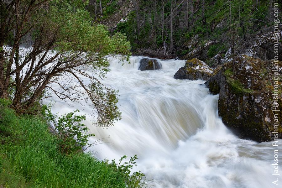 Selway Falls Lower Drop
