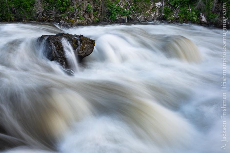 Selway Falls over Boulders